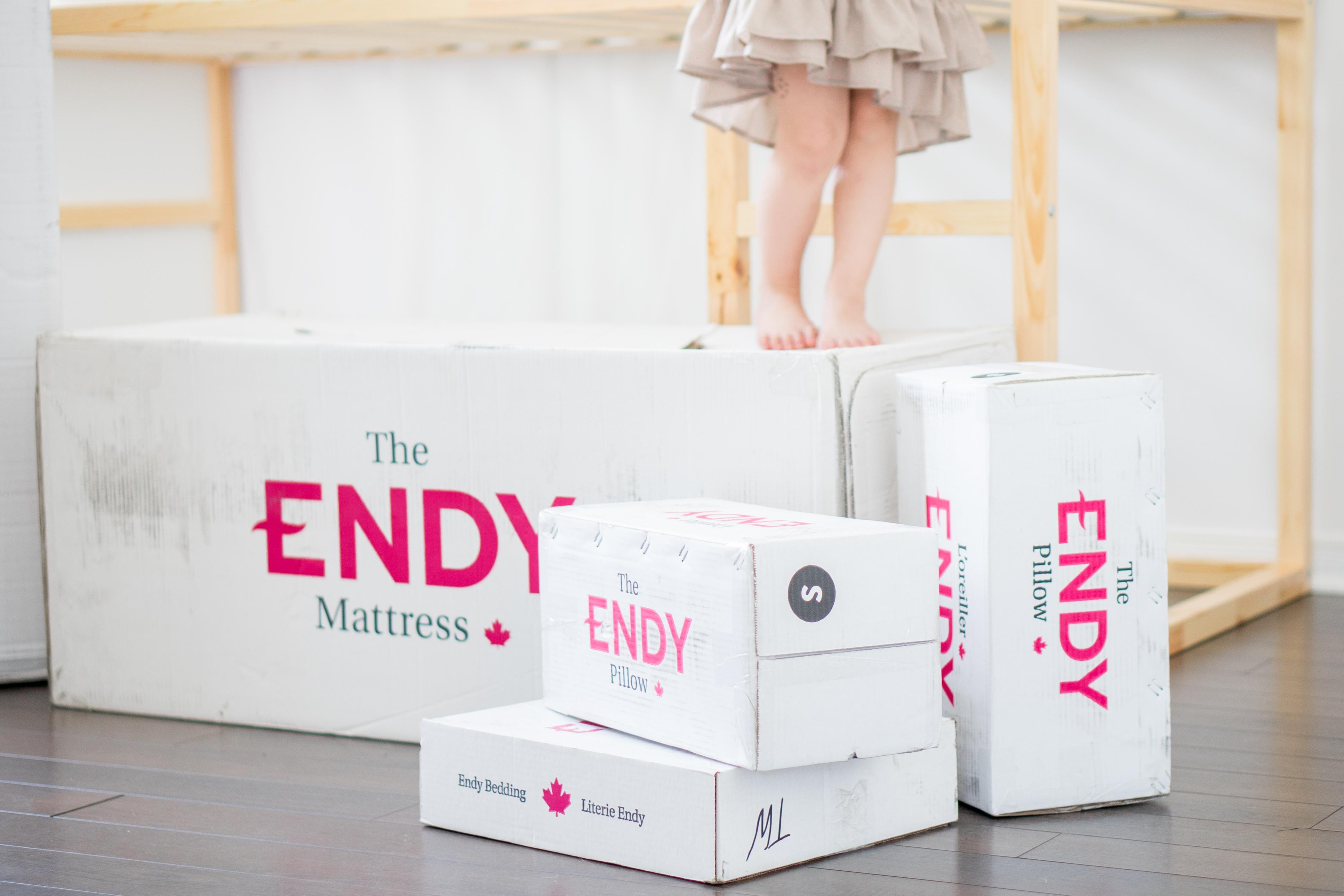 100 nuits sur un matelas Endy… Est-ce que c'est vraiment mieux?