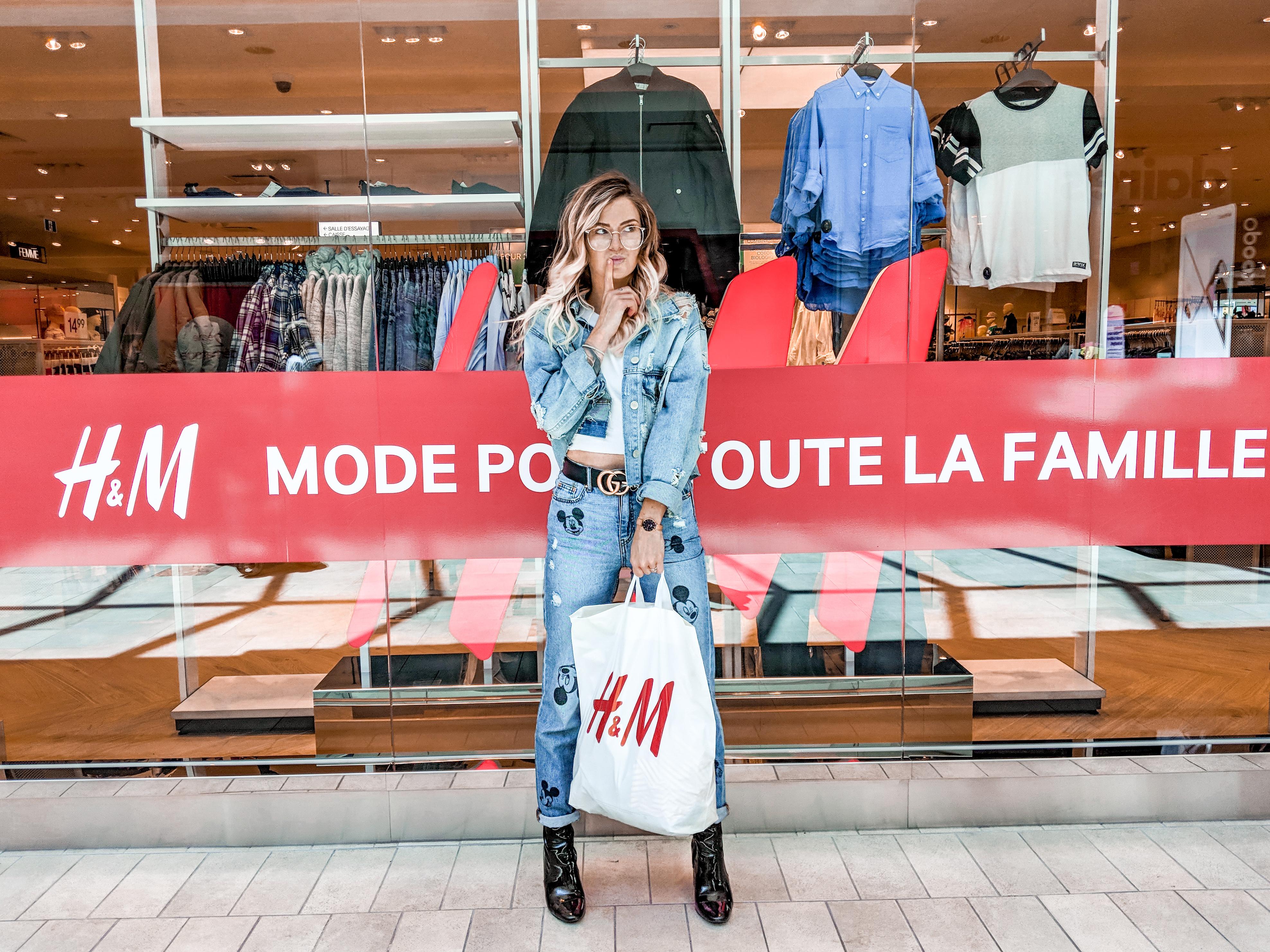 Réouverture du H&M de la Place Rosemère