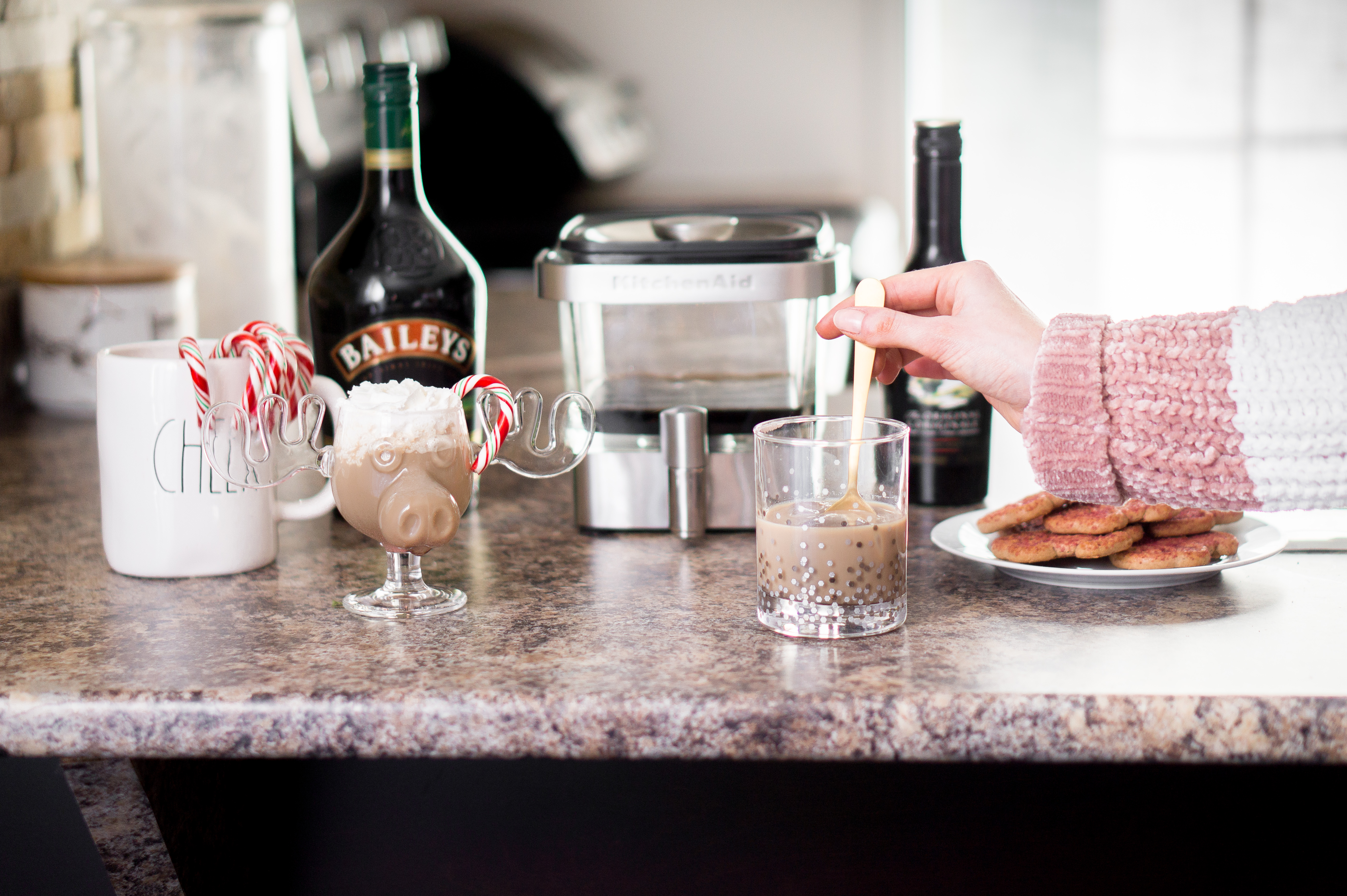 2 Recettes de café infusé à froid au Baileys