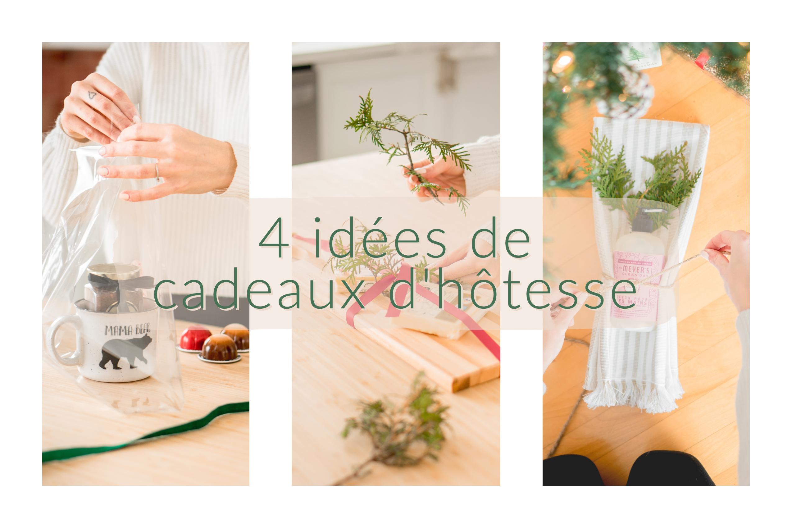 4 Idées de cadeaux d'hôtesse pour faire changement de la bouteille de vin.