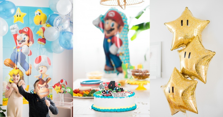 Fête de super Mario